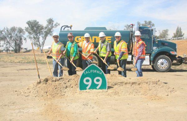 Betty Drive construction crew