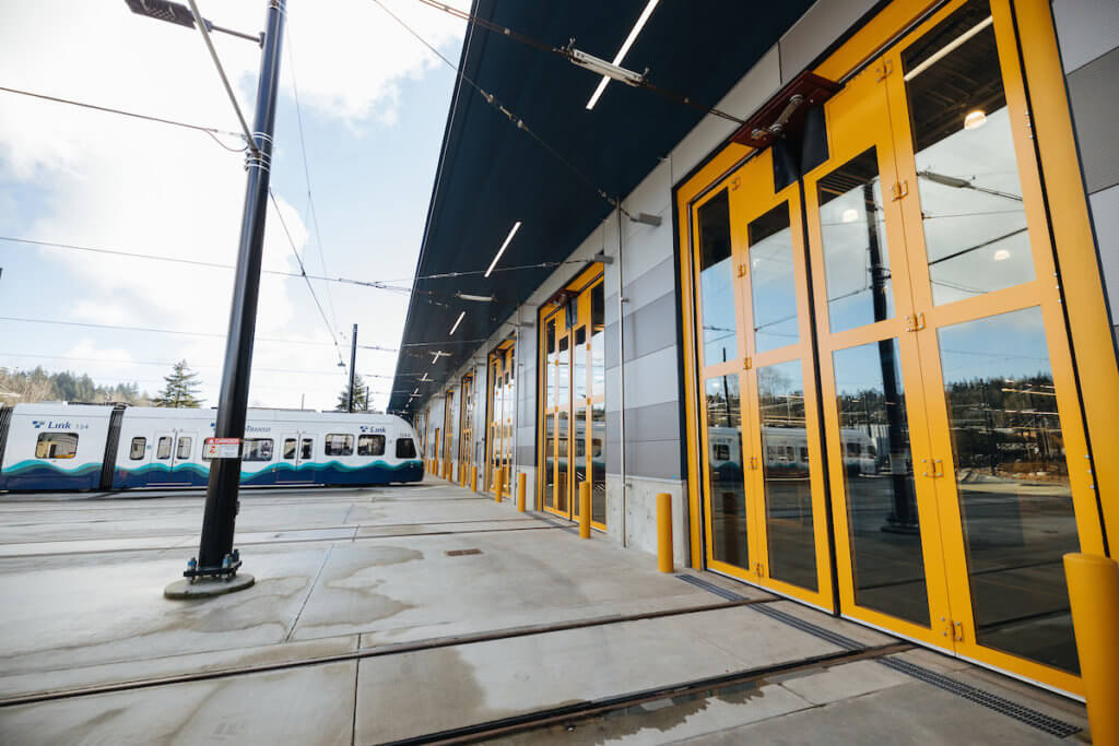Sound Transit's New Operations and Maintenance Facility
